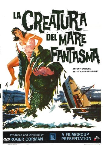 La creatura del mare fantasma, Horror, Usa